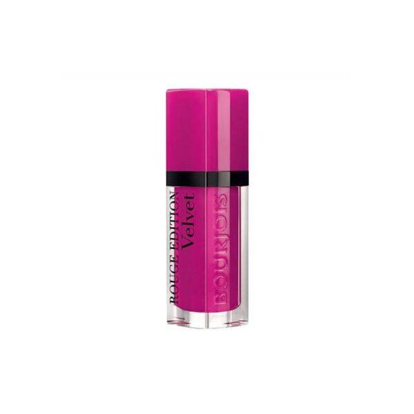 Bourjois-Rouge-Edition-Velvet-Lipstick-06-Pink-Pong