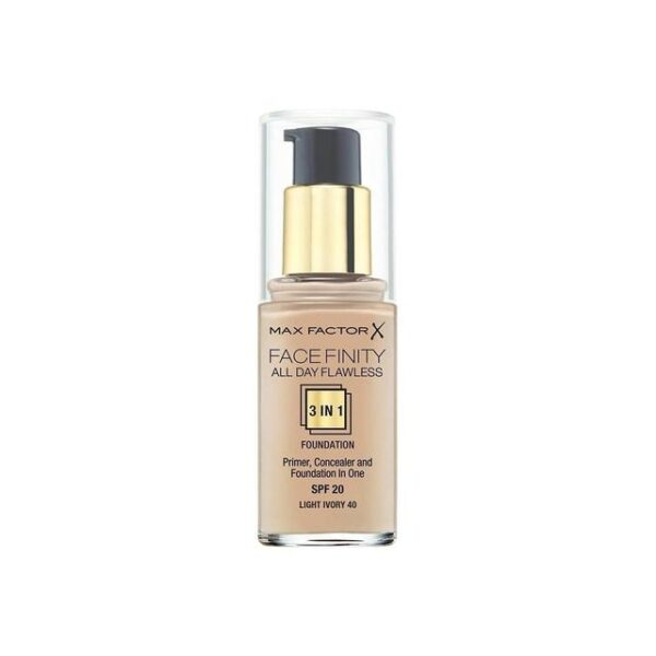 Max-Factor-Facefinity-All-Day-Flawless-3-in-1-Foundation-SPF20-40-Light-Ivory