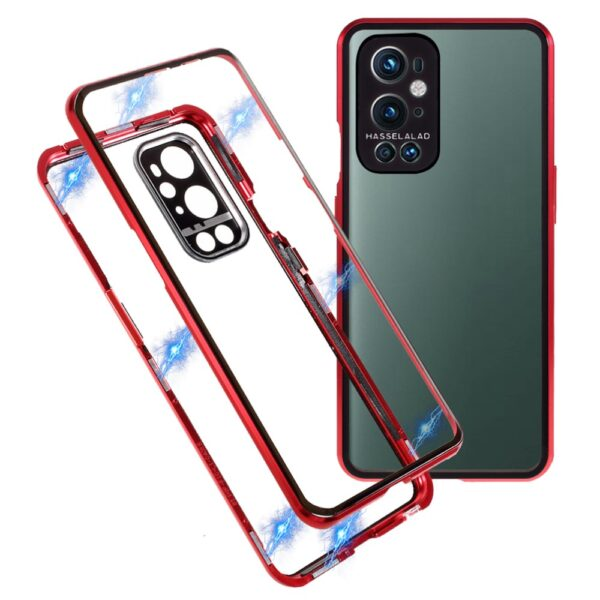 OnePlus 9 Perfect Cover Rød