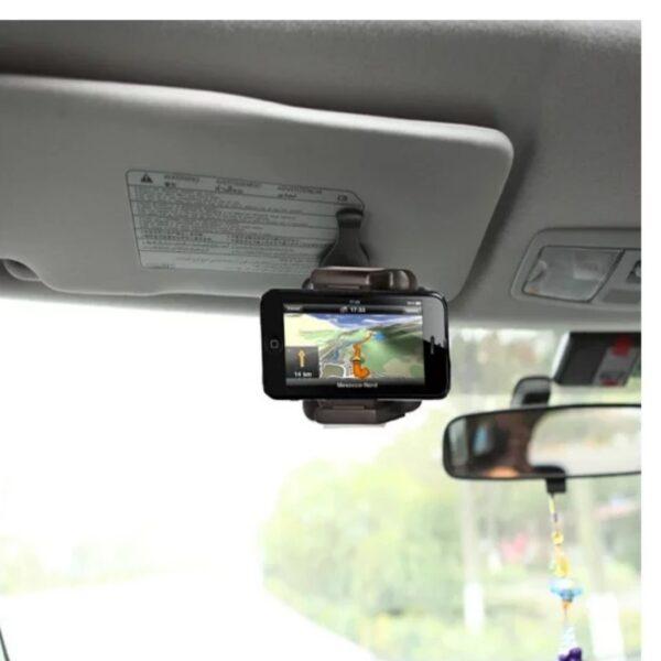 mobilholder-til-bilens-solskaerm-holder
